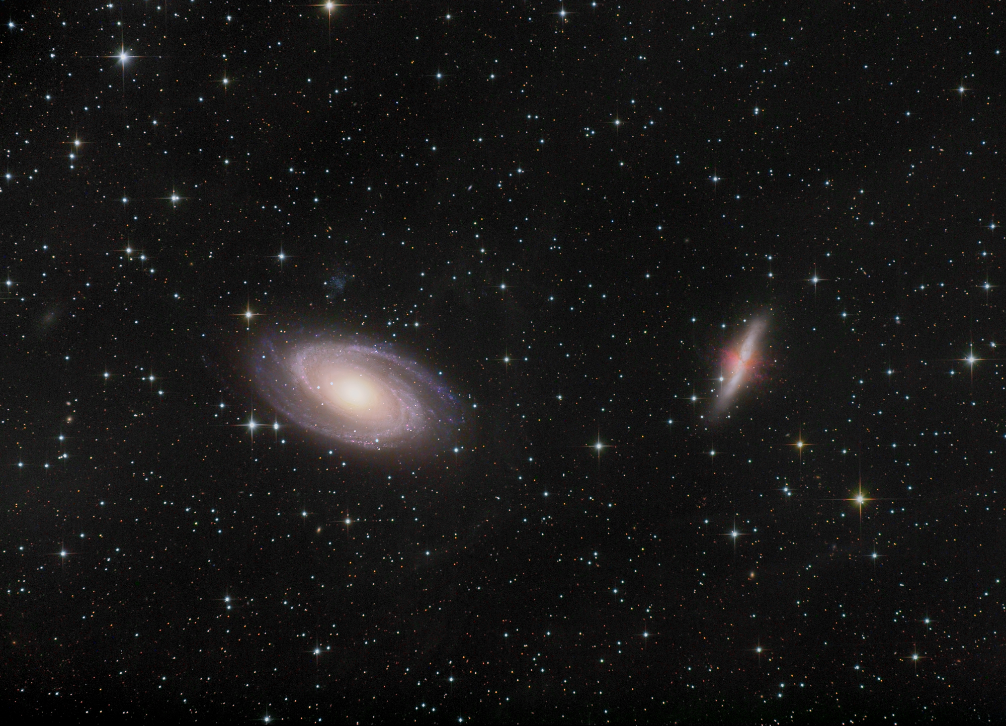 Messiers 81 & 82